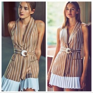 NWT Alexis Carmona stripped dress